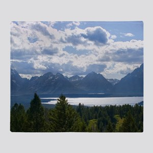 Grand Tetons Throw Blanket