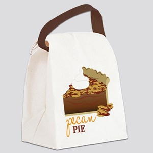 Pecan Pie Canvas Lunch Bag