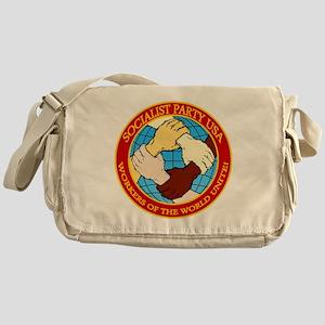 Socialist Party USA Logo Messenger Bag
