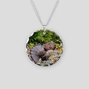 9 x 12 print 2 Necklace Circle Charm