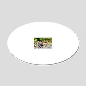 11 x17 print 20x12 Oval Wall Decal
