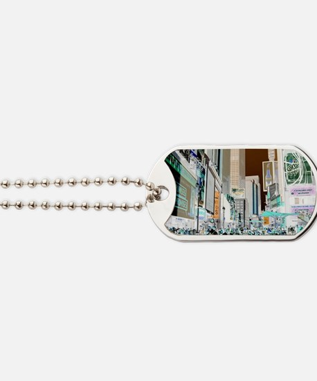 Times Square 3 Dog Tags