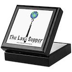 Last Supper Fork (color) Keepsake Box