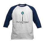 Last Supper Fork (color) Kids Baseball Jersey