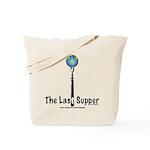 Last Supper Fork (color) Tote Bag