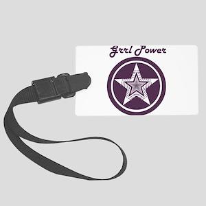 Grrl Power Luggage Tag