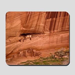 Cave dwellings Mousepad