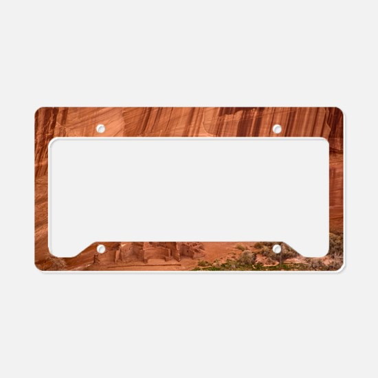 Cave dwellings License Plate Holder