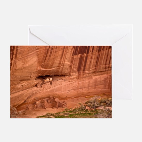 Cave dwellings Greeting Card