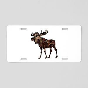 MOOSE TRIBUTE Aluminum License Plate