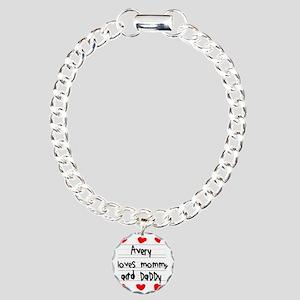 Avery Loves Mommy and Da Charm Bracelet, One Charm