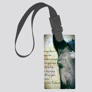 Courage Large Luggage Tag
