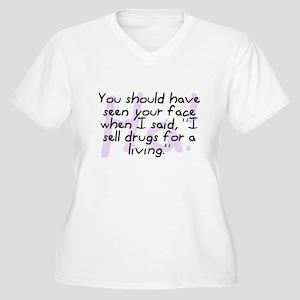 I Sell Drugs Women's Plus Size V-Neck T-Shirt