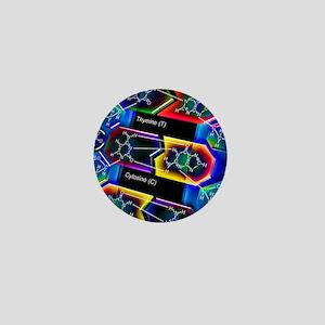 DNA molecule Mini Button