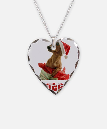 Naughty Dachshund Necklace