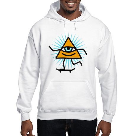 Pyramid eye skate god Hooded Sweatshirt