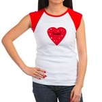 Cowgirl Heart Women's Cap Sleeve T-Shirt