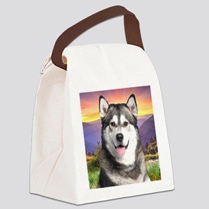 meadow(blanket) Canvas Lunch Bag