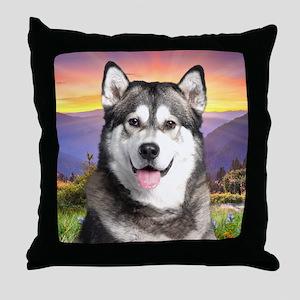 meadow(blanket) Throw Pillow