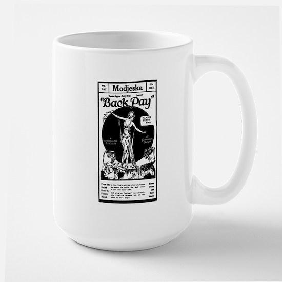 Seena Owen BACK PAY Large Mug