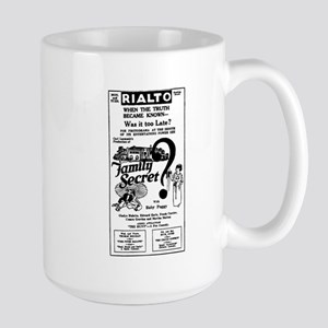 Baby Peggy FAMILY SECRET Large Mug