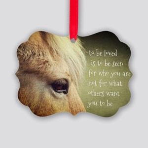 To be loved Fjord eye Picture Ornament