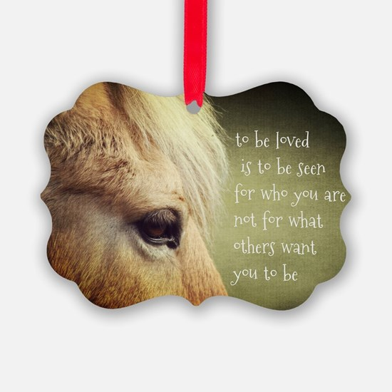 To be loved Fjord eye Ornament