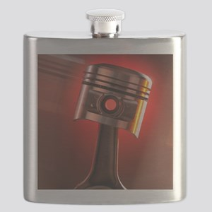 Car engine piston Flask