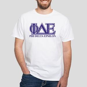 Phi Delta Epsilon White T-Shirt