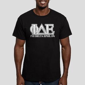 Phi Delta Epsilon Men's Fitted T-Shirt (dark)