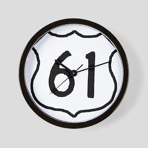 Highway 61 Wall Clock