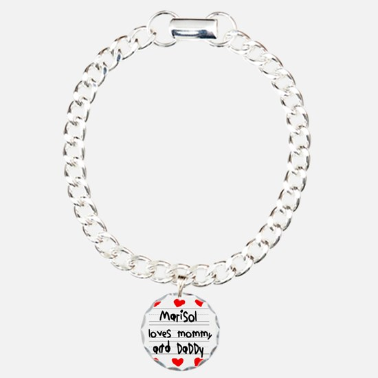 Marisol Loves Mommy and  Charm Bracelet, One Charm