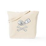 Time Flies, Having Rum Tote Bag