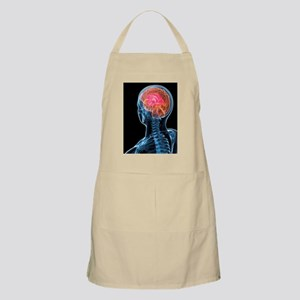 Headache, conceptual artwork Apron