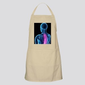 Back pain, conceptual artwork Apron