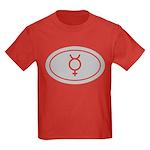 Planet Mercury Kids Dark T-Shirt