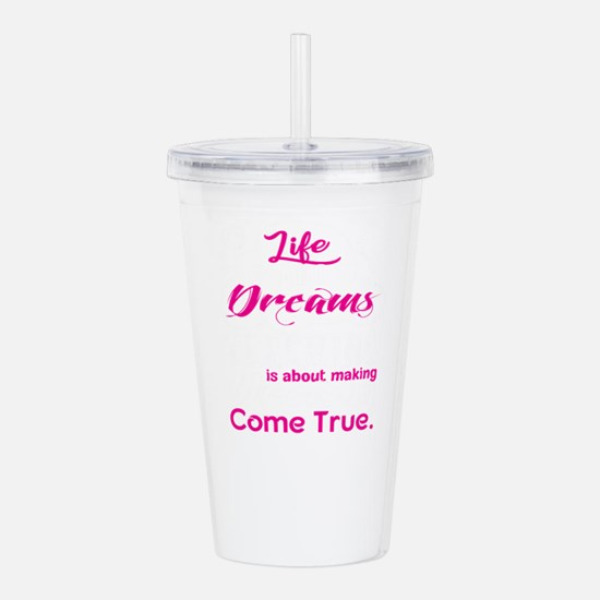 Teaching Is About Maki Acrylic Double-wall Tumbler
