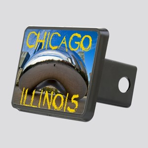 Chcago_10X8_puzzle_mousepa Rectangular Hitch Cover