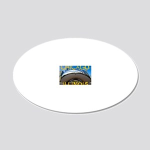 Chcago_10X8_puzzle_mousepad_ 20x12 Oval Wall Decal