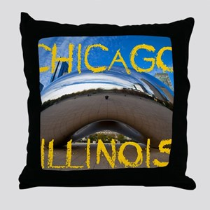 Chcago_10X8_puzzle_mousepad_Bean Throw Pillow
