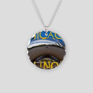 Chcago_10X8_puzzle_mousepad_ Necklace Circle Charm