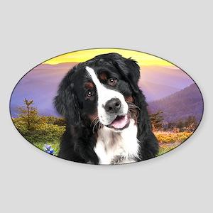 meadow(license) Sticker (Oval)
