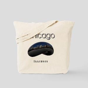 Chicago_10x10_Bean Tote Bag