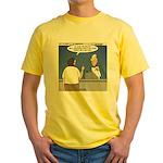 Supersize Me Yellow T-Shirt
