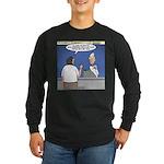 Supersize Me Long Sleeve Dark T-Shirt