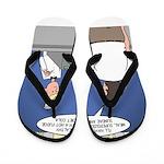 Supersize Me Flip Flops