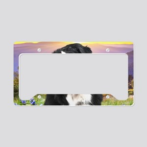 meadow(oval) License Plate Holder