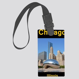 Chicago_5.5x8.5_Journal_Bean Large Luggage Tag