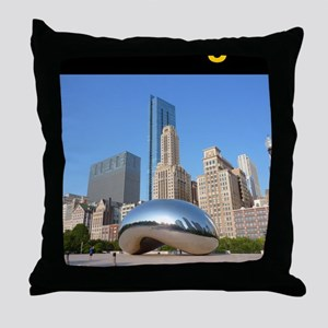 Chicago_5.5x8.5_Journal_Bean Throw Pillow
