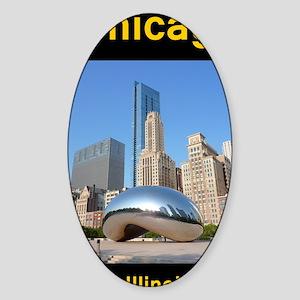 Chicago_5.5x8.5_Journal_Bean Sticker (Oval)